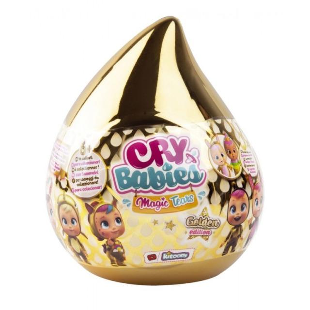 Obrázek produktu CRY BABIES Magické slzy Panenka s domečkem a doplňky ve zlaté slzičce