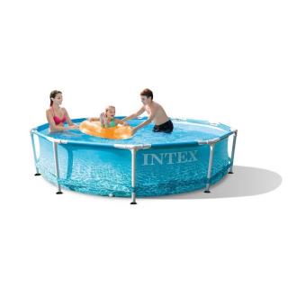 Obrázek 1 produktu Intex 28208 Bazén Beachside Metal Frame Pool 305 x 76 cm