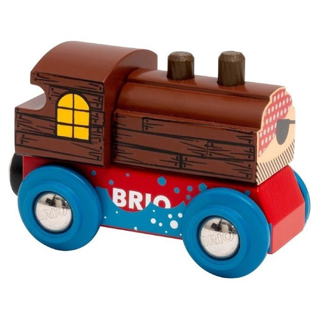 Obrázek produktu Brio 33841 Skvělá sbírka lokomotiv - pirát