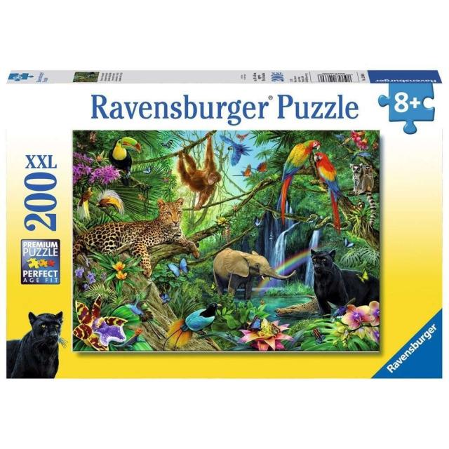 Obrázek produktu Ravensburger 12660 Puzzle Džungle  XXL 200 dílků