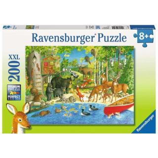 Obrázek 1 produktu Ravensburger 12740 Puzzle Lesní přátelé  XXL 200 dílků