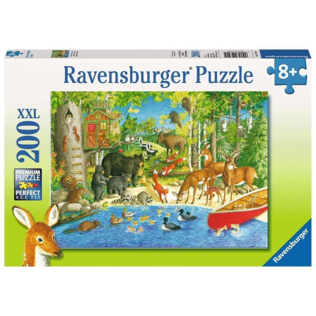 Obrázek produktu Ravensburger 12740 Puzzle Lesní přátelé  XXL 200 dílků