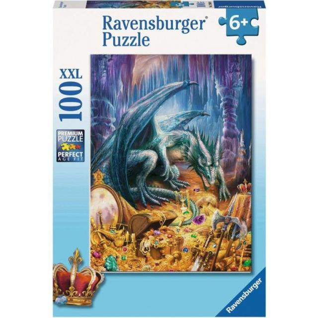 Obrázek produktu Ravensburger 12940 Puzzle Dračí poklad XXL 100 dílků