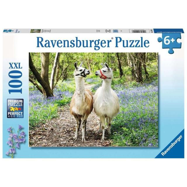 Obrázek produktu Ravensburger 12941 Puzzle Huňatí přátelé XXL 100 dílků