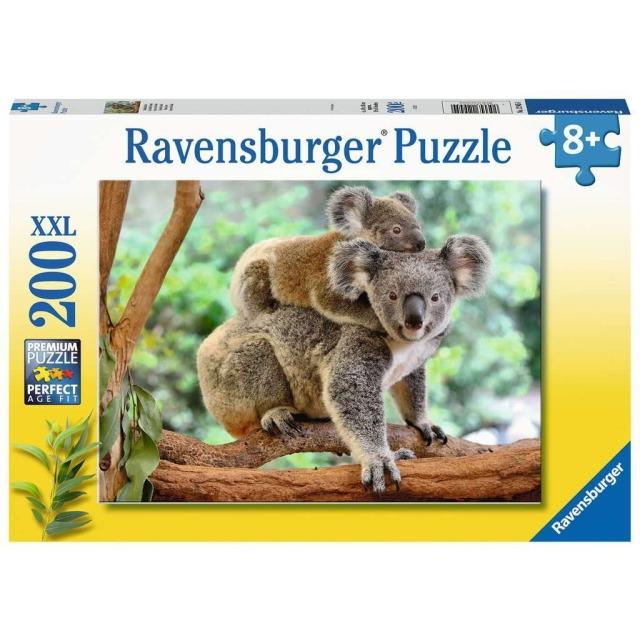 Obrázek produktu Ravensburger 12945 Puzzle Koalí rodina XXL 200 dílků