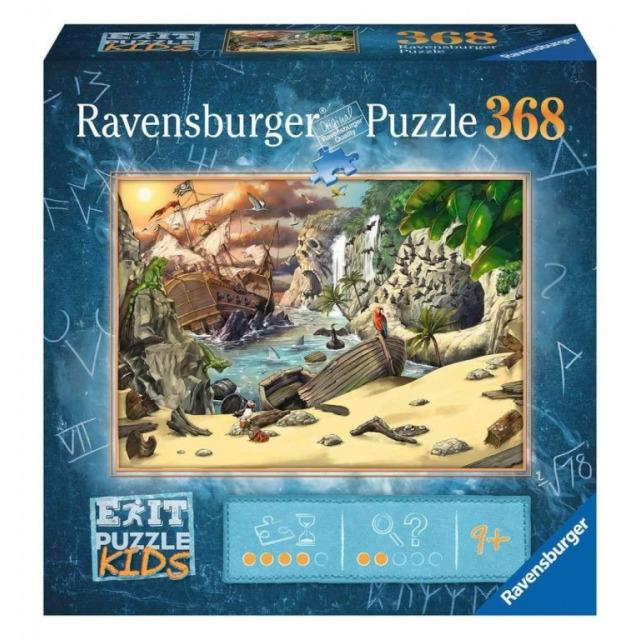 Obrázek produktu Ravensburger 12954 Exit Kids Puzzle: Piráti 368 dílků