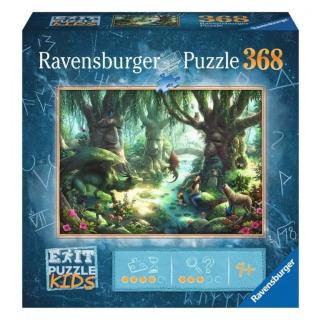 Obrázek 1 produktu Ravensburger 12955 Exit Kids Puzzle: V magickém lese 368 dílků