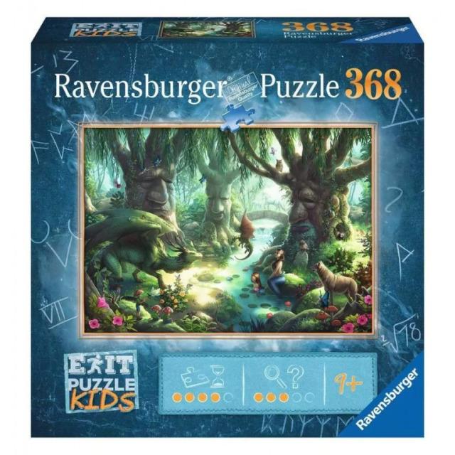 Obrázek produktu Ravensburger 12955 Exit Kids Puzzle: V magickém lese 368 dílků