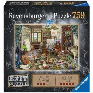 Obrázek 1 produktu Ravensburger 16782 Exit Puzzle: Umělecké studio 759 dílků