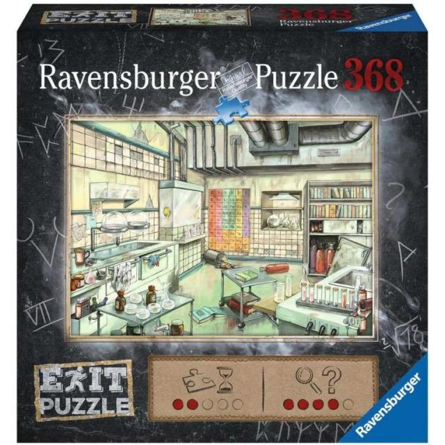Obrázek produktu Ravensburger 16783 Exit Puzzle: Laboratoř 368 dílků