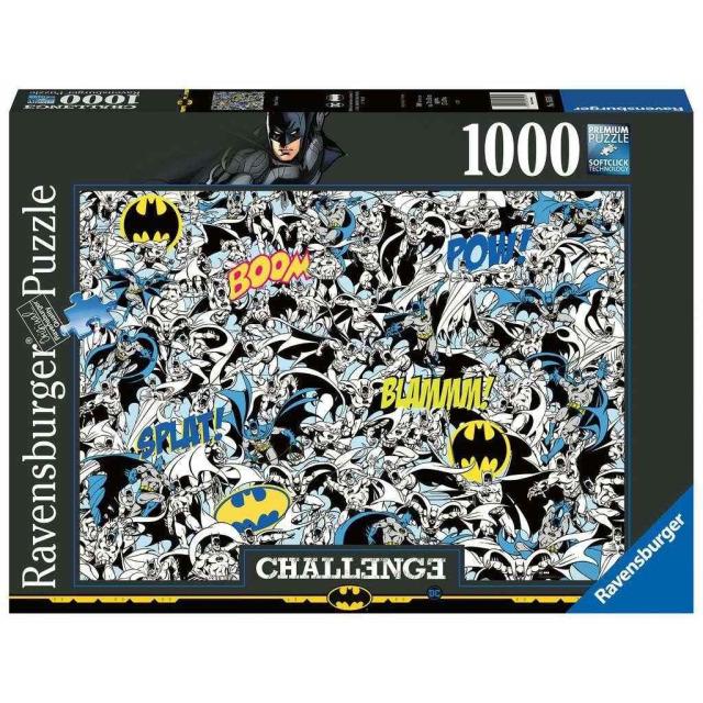 Obrázek produktu Ravensburger 16513 Puzzle Batman Challenge 1000 dílků