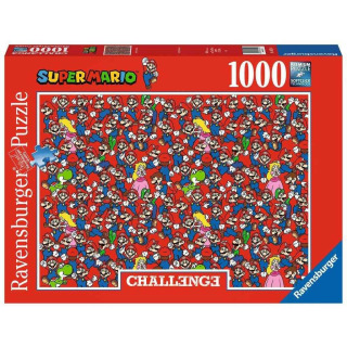 Obrázek 1 produktu Ravensburger 16525 Puzzle Super Mario Challenge 1000 dílků