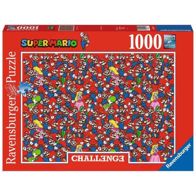 Obrázek produktu Ravensburger 16525 Puzzle Super Mario Challenge 1000 dílků