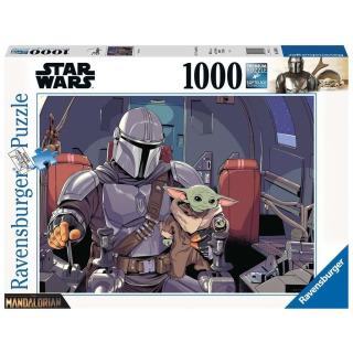 Obrázek 1 produktu Ravensburger 16565 Puzzle Mandalorian 1000 dílků