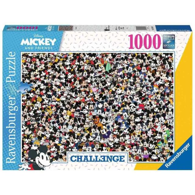 Obrázek produktu Ravensburger 16744 Puzzle Mickey a přátelé Challenge 1000 dílků