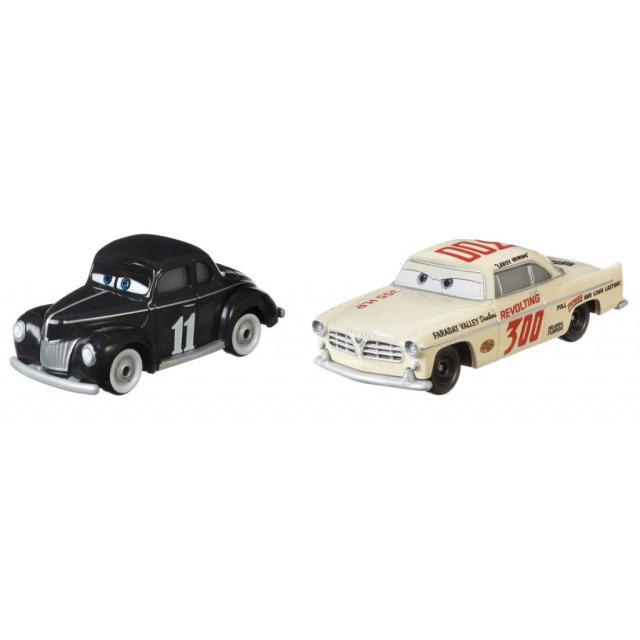Obrázek produktu Cars 3 Autíčka Junior Moon & Leroy Heming, Mattel GRR23