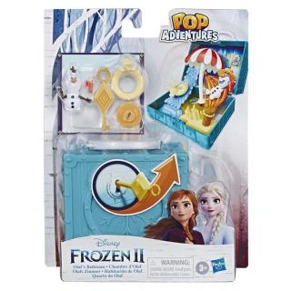 Obrázek 1 produktu Frozen 2 - Ledové Království Olaf v kufříku s doplňky, Hasbro E8845