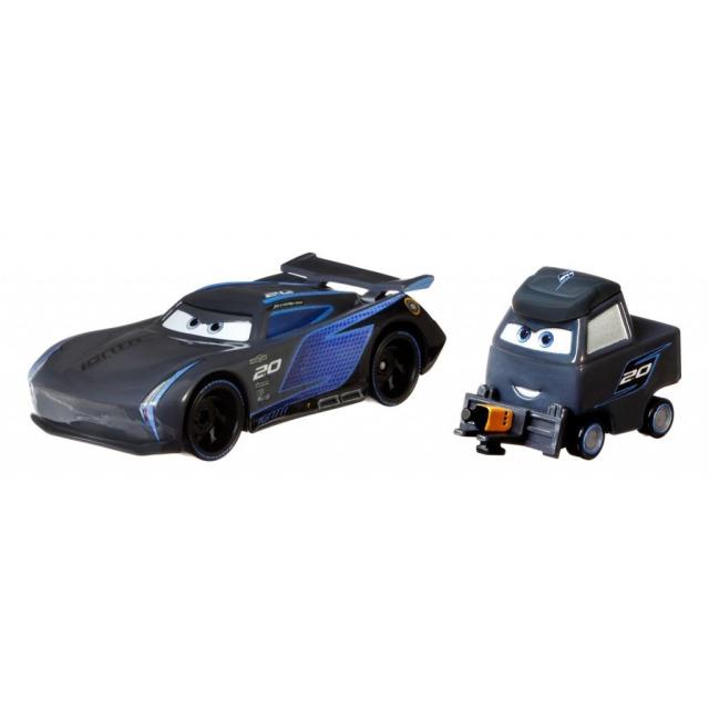 Obrázek produktu Cars 3 Autíčka Jackson Storm & Laura Spinwell, Mattel GRR24