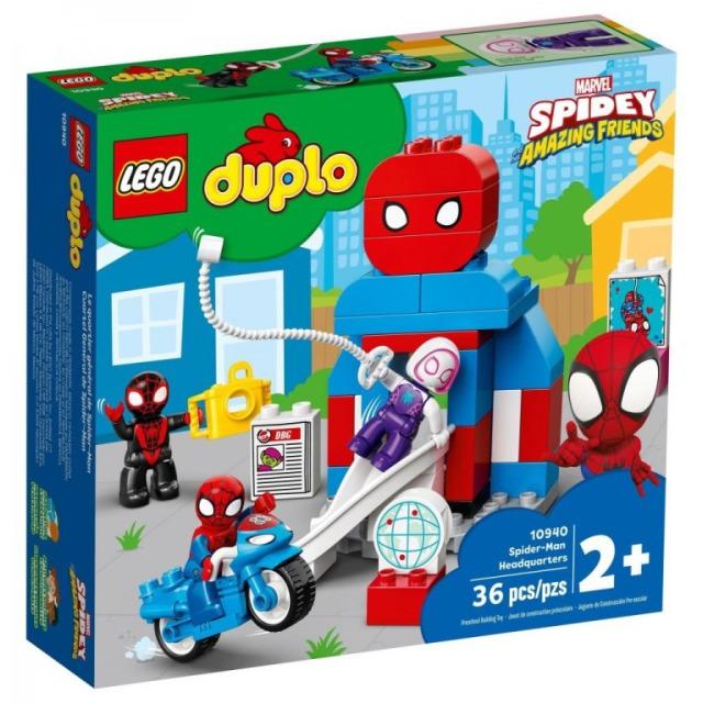 Obrázek produktu LEGO DUPLO 10940 Základna Spider-Mana