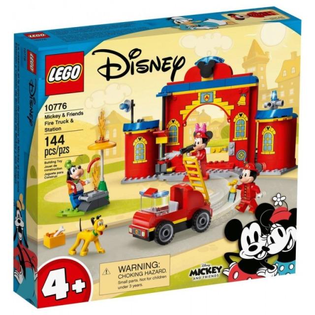 Obrázek produktu LEGO Mickey 10776 Hasičská stanice a auto Mickeyho a přátel