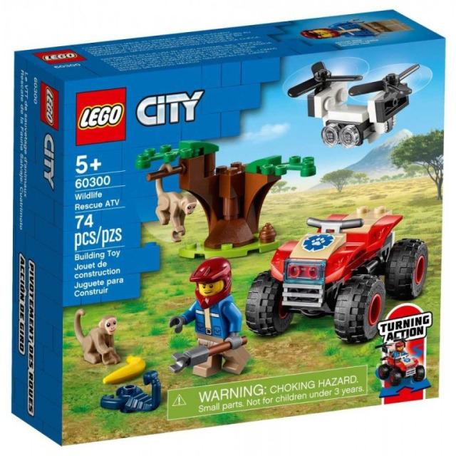 Obrázek produktu LEGO CITY 60300 Záchranářská čtyřkolka do divočiny