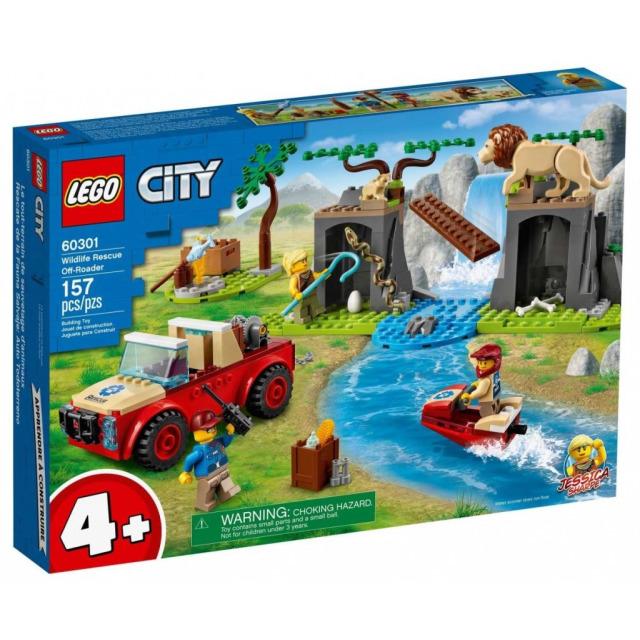 Obrázek produktu LEGO CITY 60301 Záchranářský teréňák do divočiny