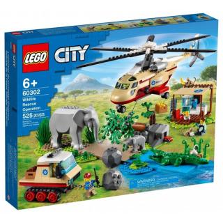 Obrázek 1 produktu LEGO CITY 60302 Záchranná operace v divočině
