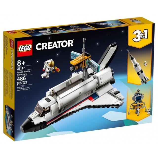 Obrázek produktu LEGO CREATOR 31117 Vesmírné dobrodružství s raketoplánem
