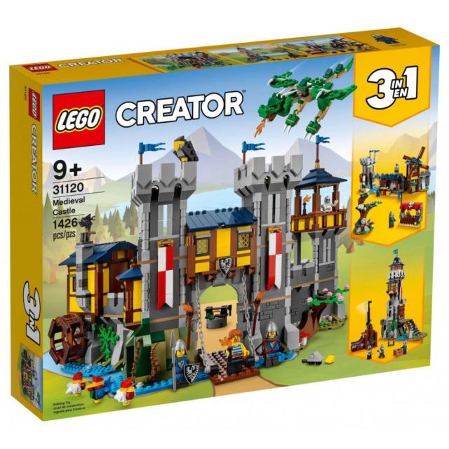 Obrázek produktu LEGO CREATOR 31120 Středověký hrad
