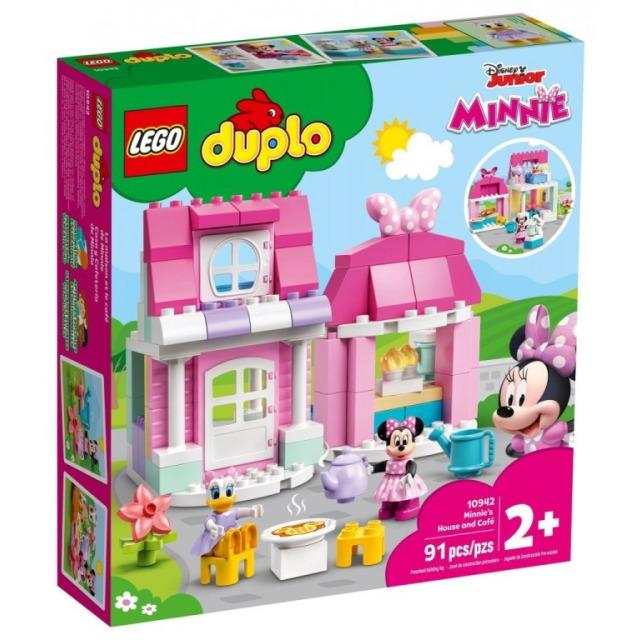 Obrázek produktu LEGO DUPLO 10942 Domek a kavárna Minnie