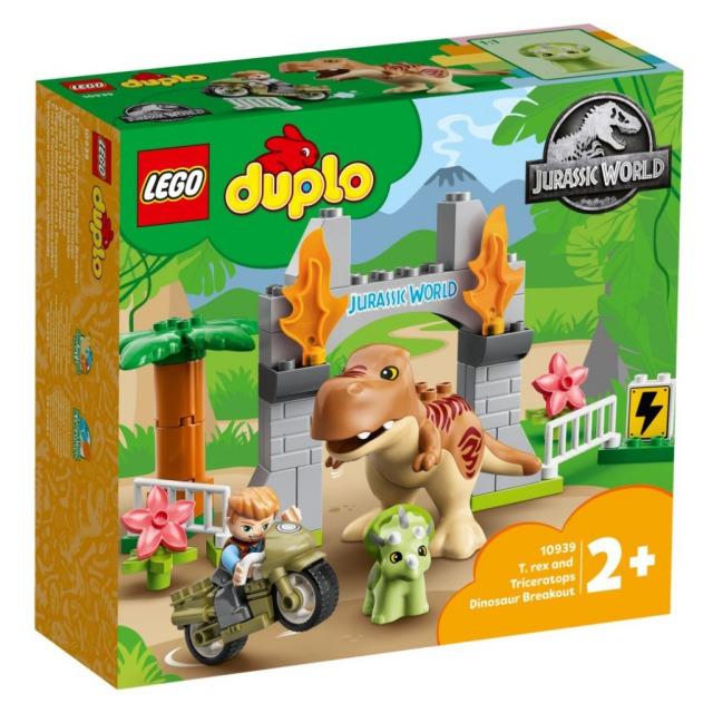 Obrázek produktu LEGO DUPLO 10939 T-Rex a Triceratops na útěku