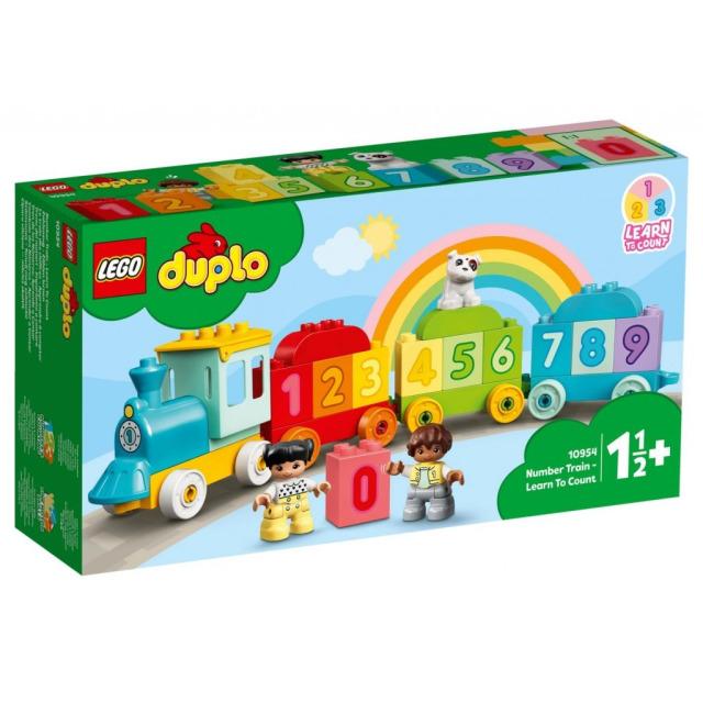 Obrázek produktu LEGO DUPLO 10954 Vláček s čísly – Učíme se počítat