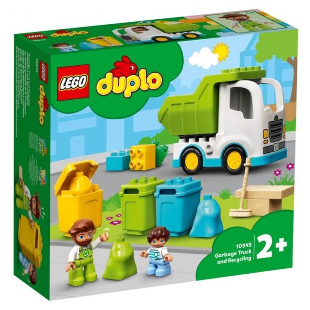 Obrázek produktu LEGO DUPLO 10945 Popelářský vůz a recyklování
