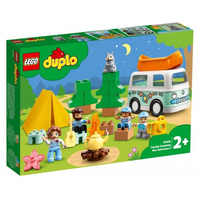 Obrázek produktu LEGO DUPLO 10946 Dobrodružství v rodinném karavanu