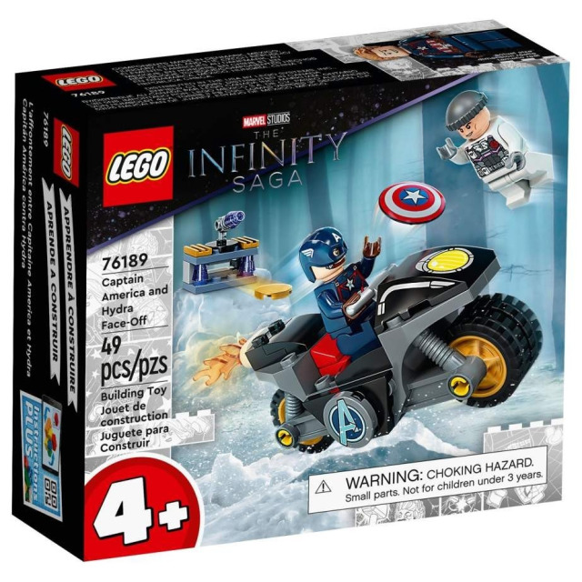 Obrázek produktu LEGO Super Heroes 76189 Captain America vs. Hydra