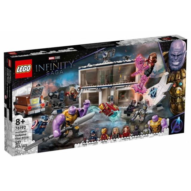 Obrázek produktu LEGO Super Heroes 76192 Avengers: Endgame – poslední bitva