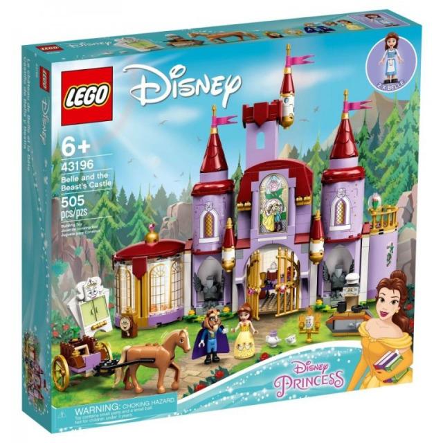 Obrázek produktu LEGO Disney 43196 Zámek Krásky a zvířete