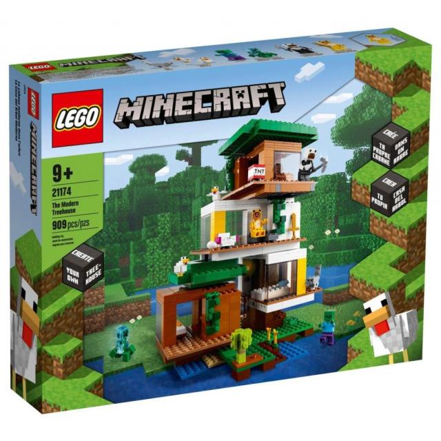 Obrázek produktu LEGO Minecraft 21174 Moderní dům na stromě