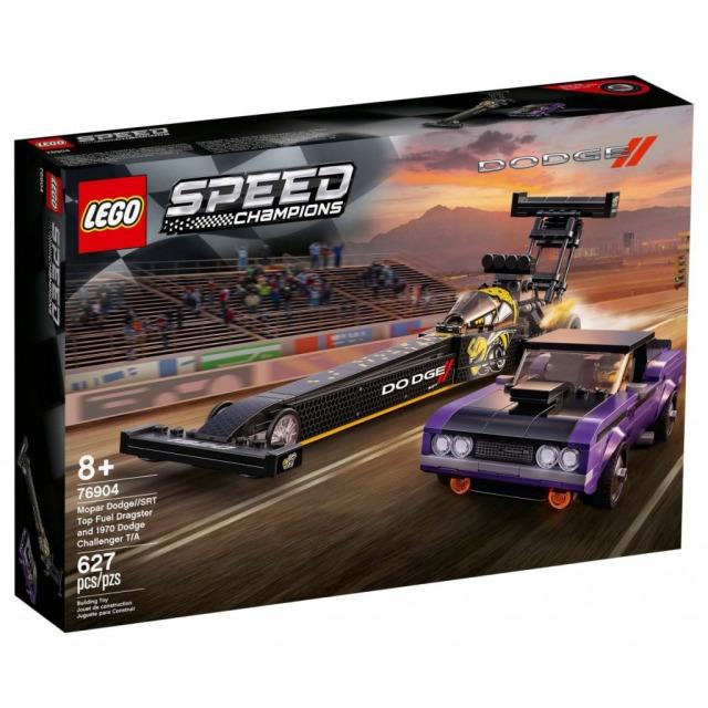 Obrázek produktu LEGO Speed Champions 76904 Mopar Dodge//SRT Top Fuel Dragster a 1970 Dodge Challenger T/A