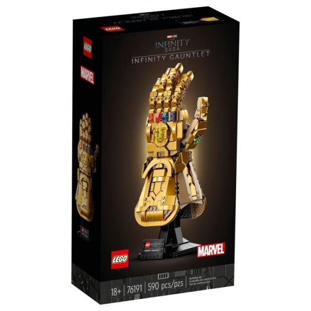 Obrázek produktu LEGO Super Heroes 76191 Rukavice nekonečna