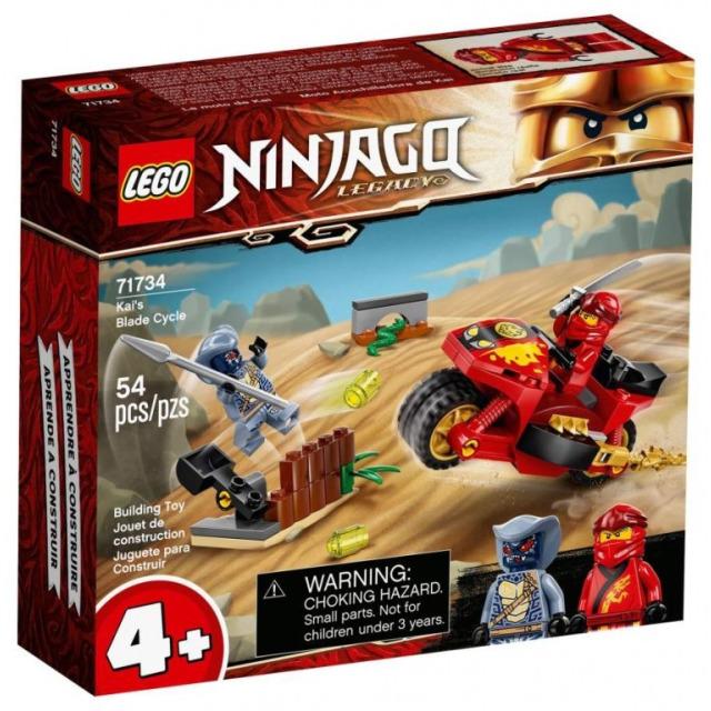 Obrázek produktu LEGO Ninjago 71734 Kaiova motorka s čepelemi