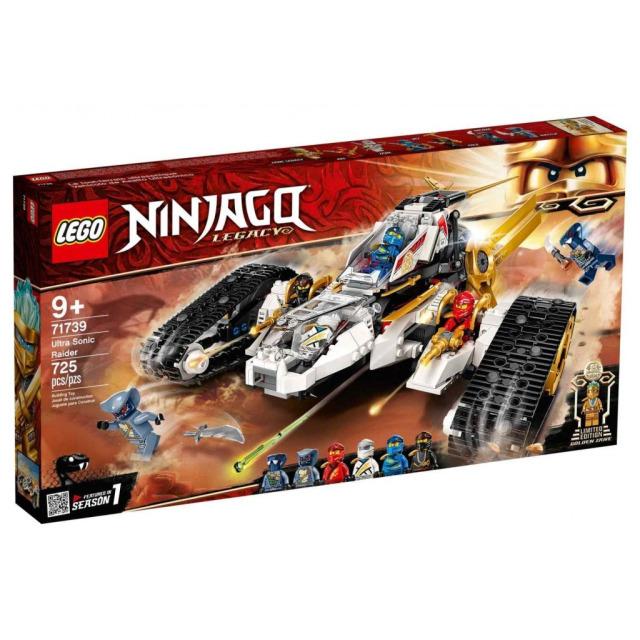 Obrázek produktu LEGO Ninjago 71739 Nadzvukovýútočník