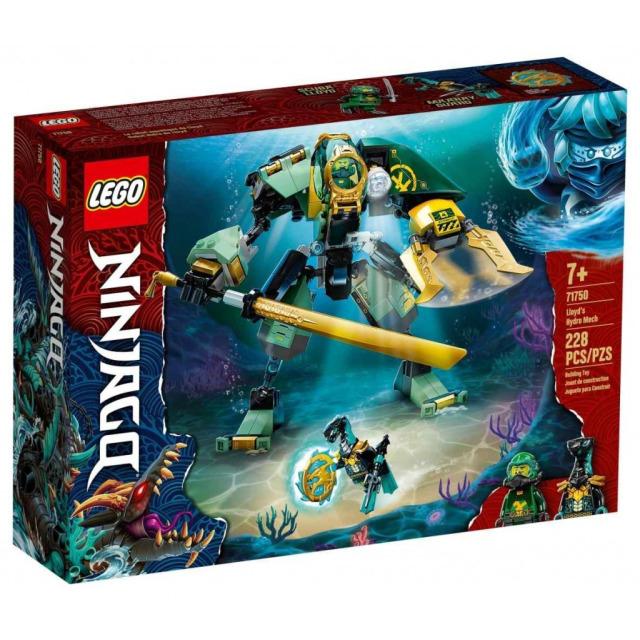 Obrázek produktu LEGO Ninjago 71750 Lloydův vodní robot