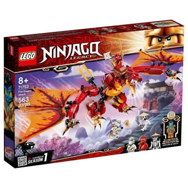 Obrázek produktu LEGO Ninjago 71753 Útok ohnivého draka