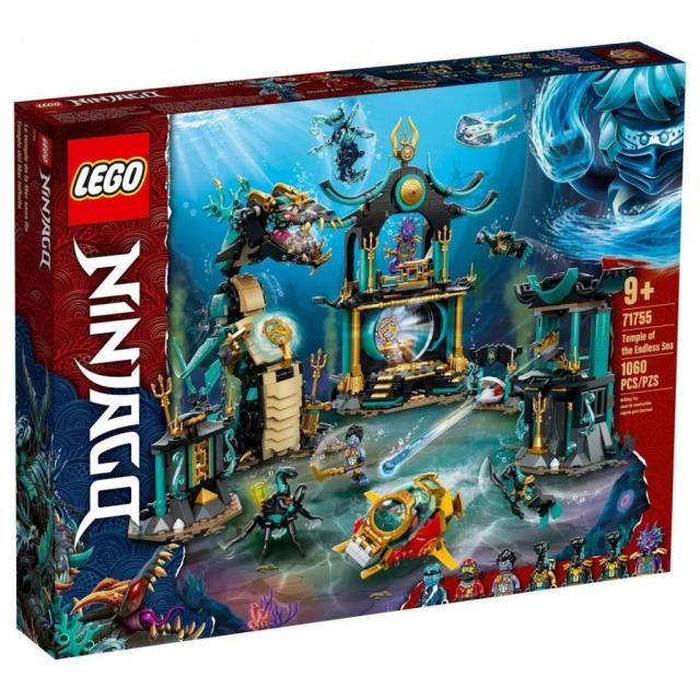 Obrázek produktu LEGO Ninjago 71755 Chrám nekonečného moře
