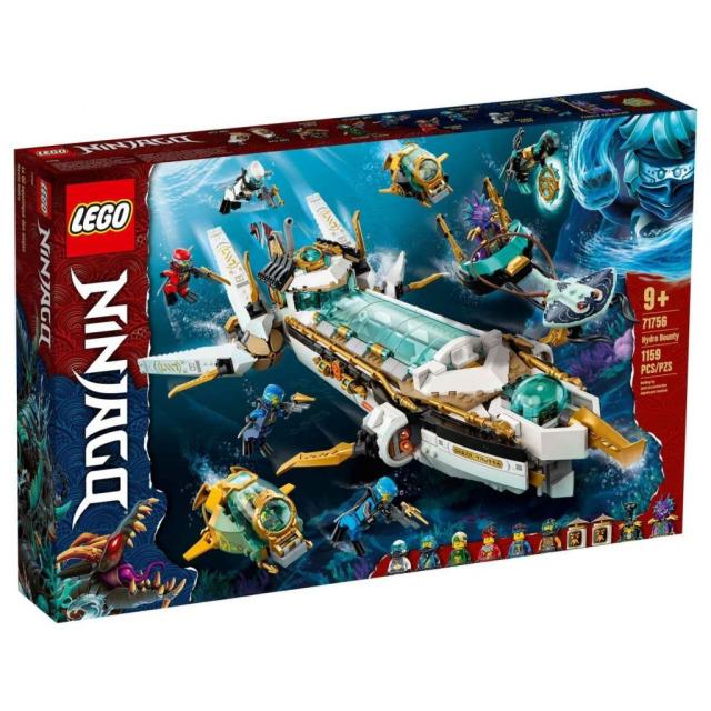 Obrázek produktu LEGO Ninjago 71756 Odměna na vlnách