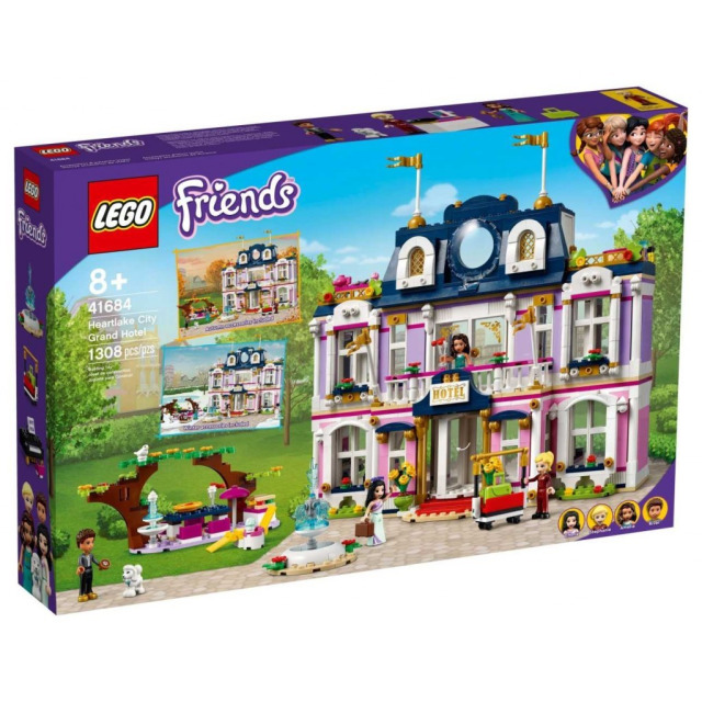 Obrázek produktu LEGO Friends 41684 Hotel v městečku Heartlake