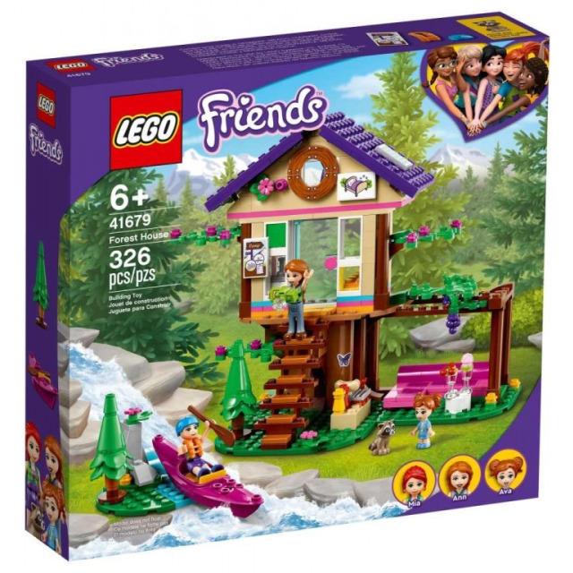 Obrázek produktu LEGO Friends 41679 Domek v lese