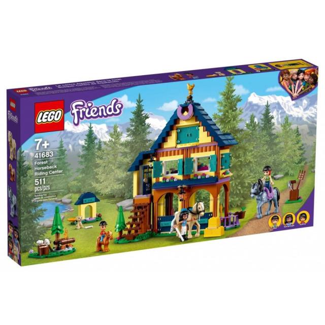 Obrázek produktu LEGO Friends 41683 Lesní jezdecké středisko