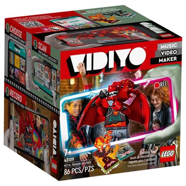 Obrázek produktu LEGO VIDIYO 43109 Metal Dragon BeatBox